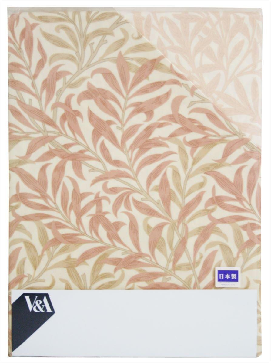 【ロマンス小杉】 V&A 掛けふとんカバー ダブルロング (190×210cm) 日本製 アンバー 1-2840-4604-7600 B01N19XK0Y ピンク