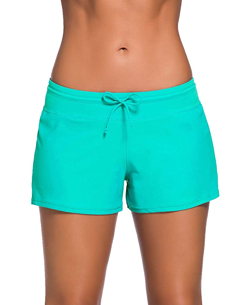 3d7973914d Chinabrands.com: Dropshipping & Wholesale cheap PARICI Womens Side Split  Waistband Swim Shorts with Panty Li online.