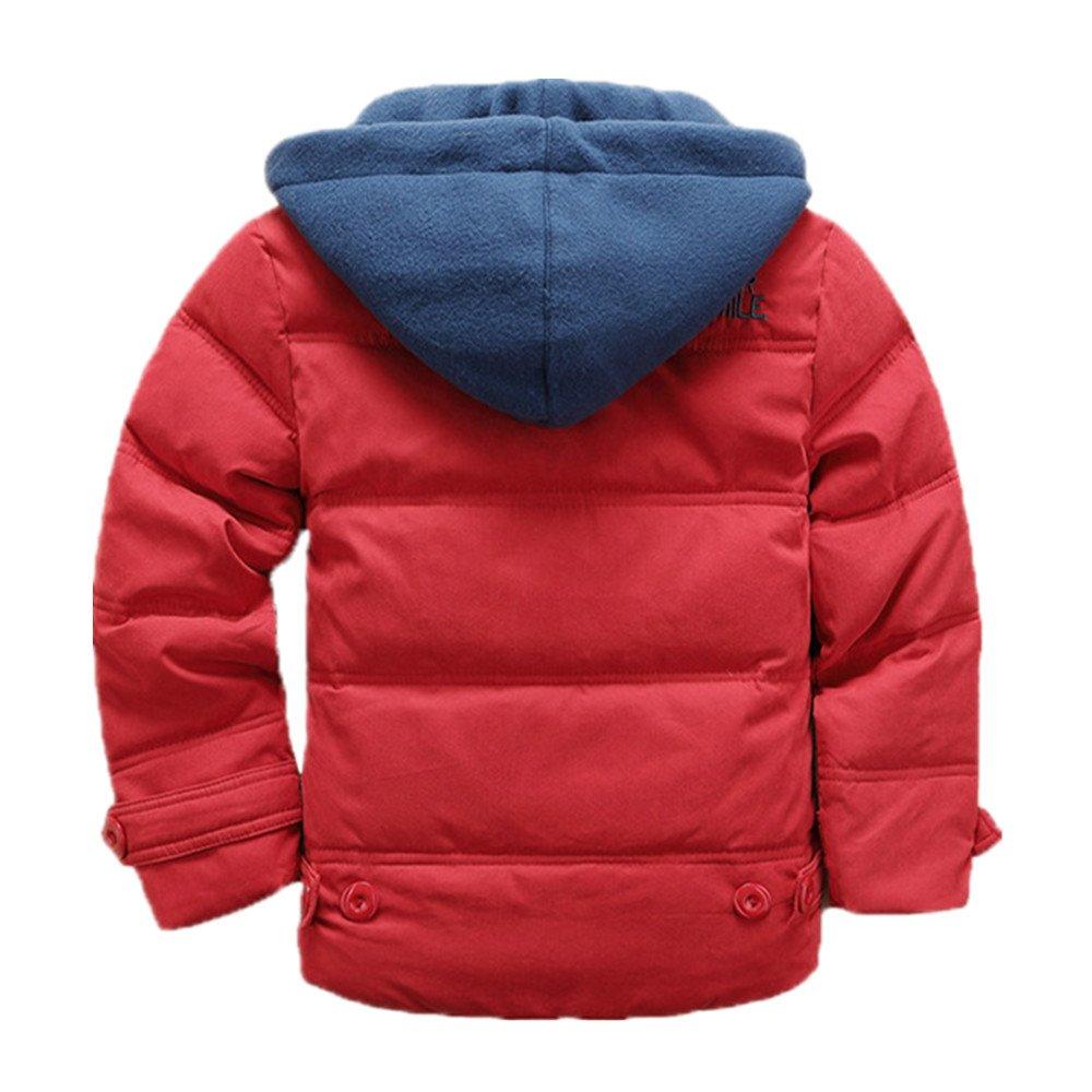 fe0f62aee Amazon.com: LJYH Boys' Hooded Puffer Jacket Big Boys Winter Down Coat:  Clothing