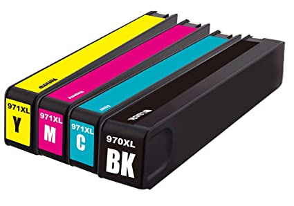 Merotoner - Lote de cartuchos de tinta para impresora compatible ...