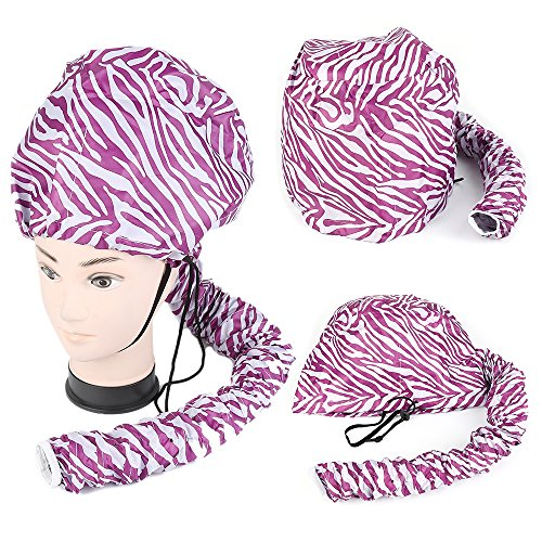 [Upgraded version] Portable Soft Hair Drying Cap Hood Hat...