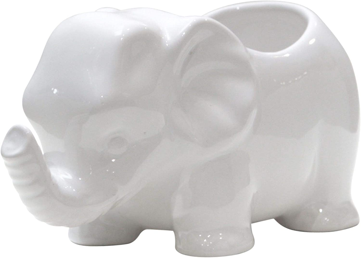 Home Essentials Elephant Planter, 3-inch x 4-inch Height
