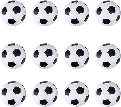 12pcs Mini Pelotas de Fútbol para Futbolín Juego de Mesa 36mm: Amazon.es: Juguetes y juegos