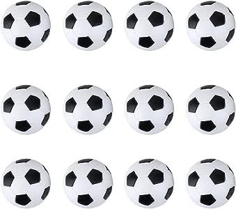 12pcs Mini Pelotas de Fútbol para Futbolín Juego de Mesa 36mm ...