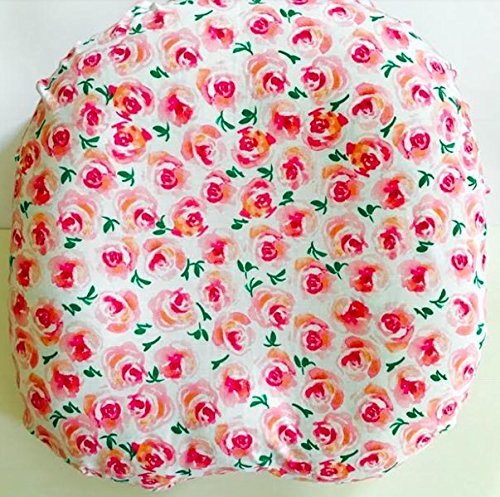 Newborn Lounger Pillow Cover in Indy Blooms Floral by Twig + Bird Handmade in the USA Twig+Bird FHTBOP