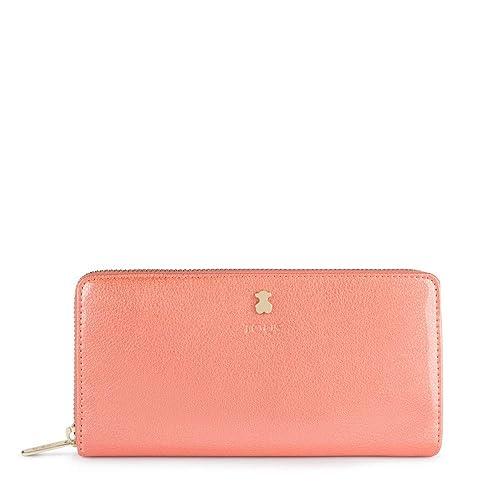 Tous 995960397 Monedero para Mujer, (Rosa), 19.5x11x2 cm (W ...