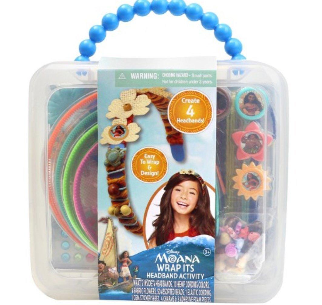 Wrap Its Headband Activity Kit Disney Moana
