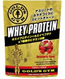 ゴールドジム(GOLD'S GYM) ホエイプロテイン ストロベリー風味 1,500g