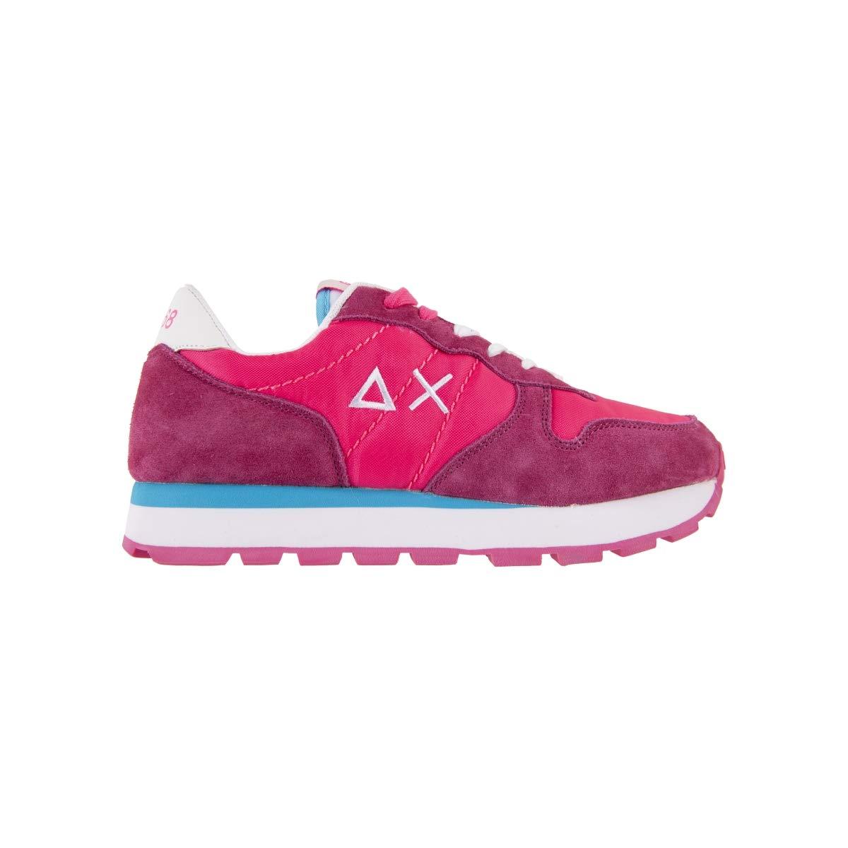 Sun 68 Scarpe da Donna scarpe da da da ginnastica Running Sportive Ginnastica in Tela Camoscio Fucsia Calzature Z19201 scarpe Nuove Comode Fondo Gomma dd4256