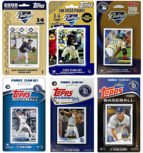 C&I Collectables MLB San Diego Padres Licensed Trading Card Team Set from C&I Collectables