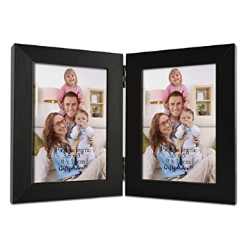 Amazoncom Giftgarden 35x5 Double Picture Frame Display 5x35 Photo