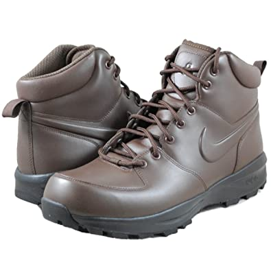 5788588596d0b NIKE Men's Manoa Leather Walking and Hiking Boots Brown Size: 7 ...