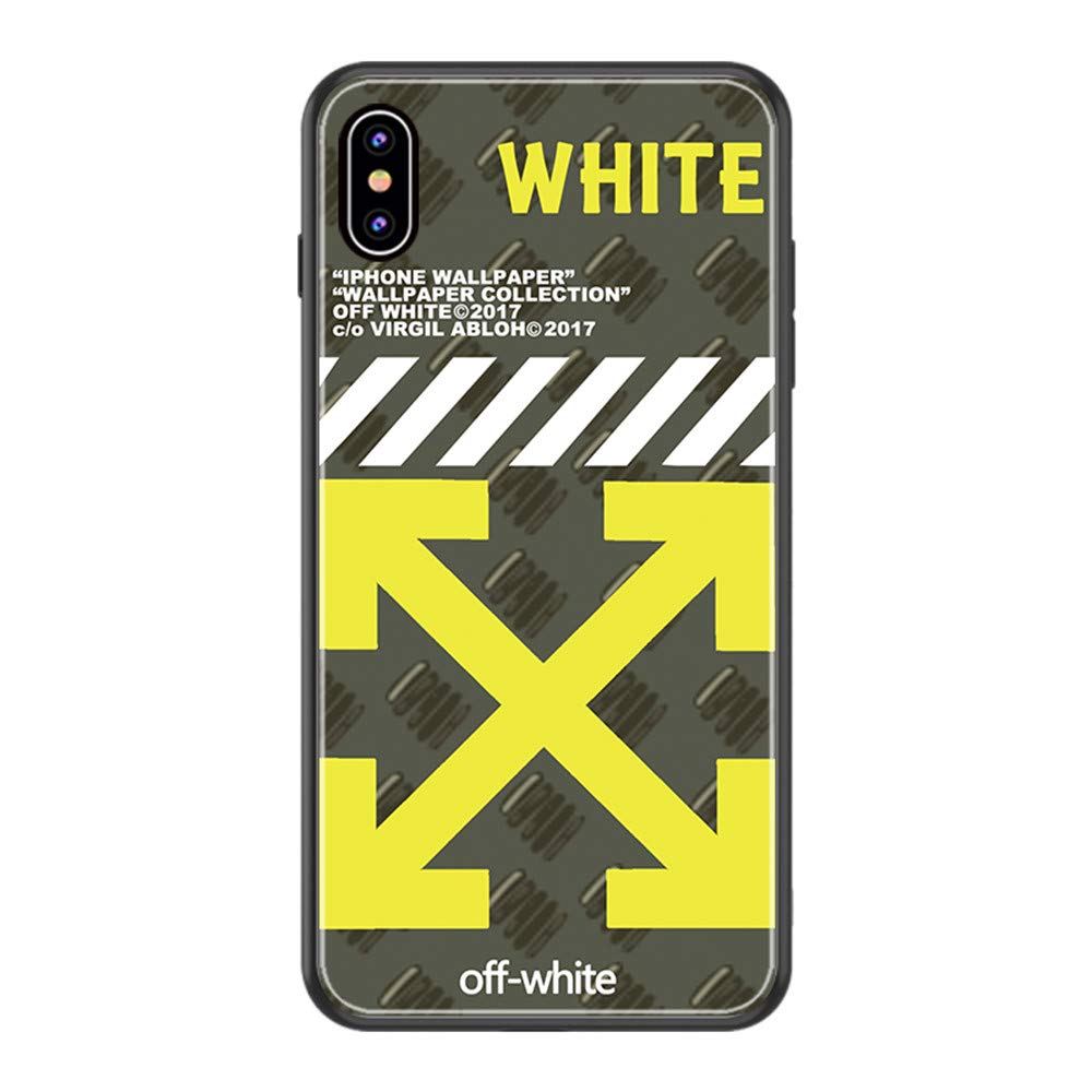 Off Ow Personalized Case Phone Case Protective Hard Case For Iphone 11 11 Pro 11 Pro Max Off White Yellow 1 Iphone 11 Pro Max Amazon In Electronics