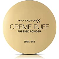 Max Factor Creme Puff, Pressed Compact Powder, Natural 21g