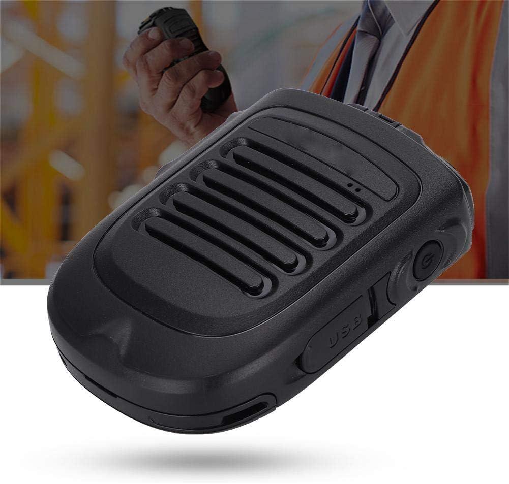 Garsent Walkie Talkie Microphone Walkie Talkie Handheld Wireless Bluetooth PTT Handheld Microphone for Walkie Talkie