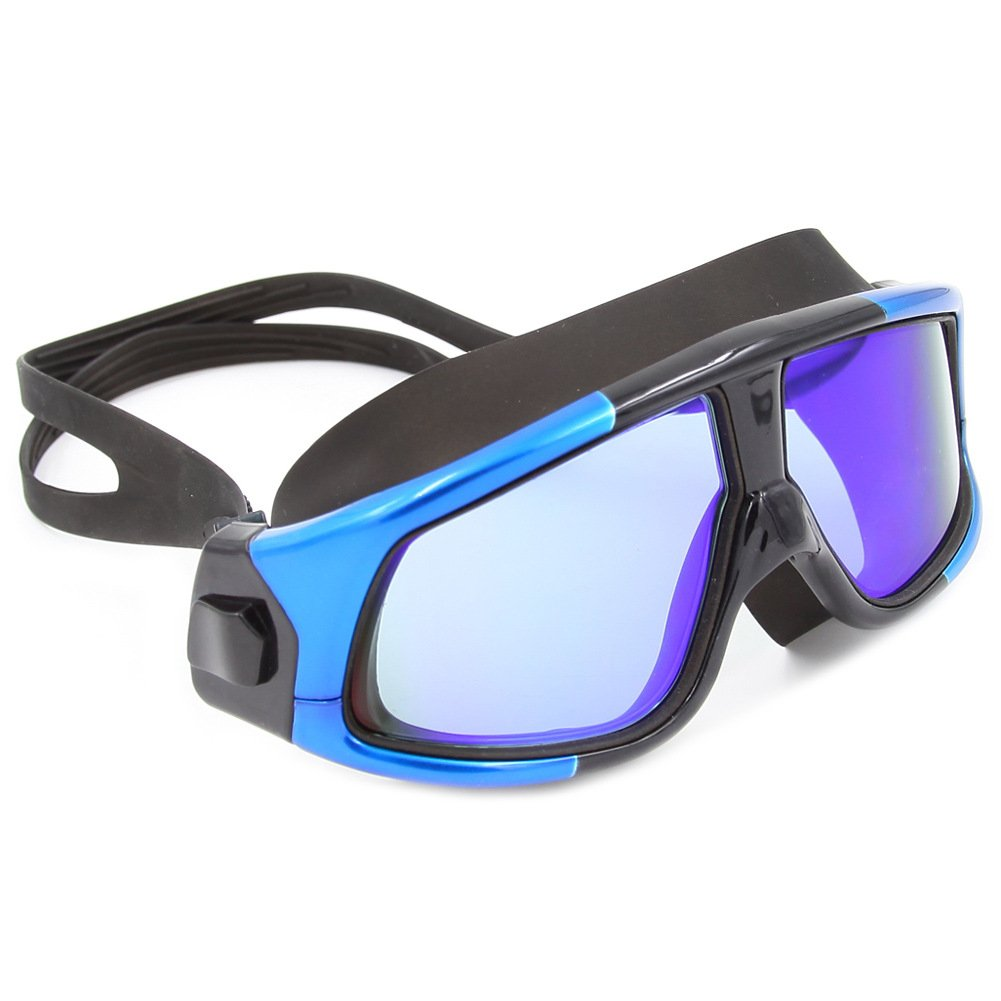 beb8b5619c Color : 5 KERVINZHANG Gafas de natación Lente de Cristal antivaho Gugoguru protección  UV Chapado para Principiantes de Buceo ...