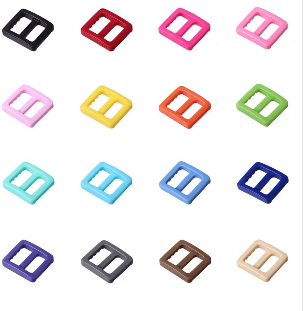 PENTA ANGEL 40PCS 3//8 Inch Plastic Curved Buckle DIY Craft Webbing Contoured Side Quick Release Buckle for Bracelets Backpack Tactical Bag and Gear 20 Colors