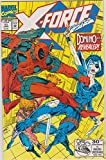 X-Force #11 Deadpool Cover and First Appearance of Domino