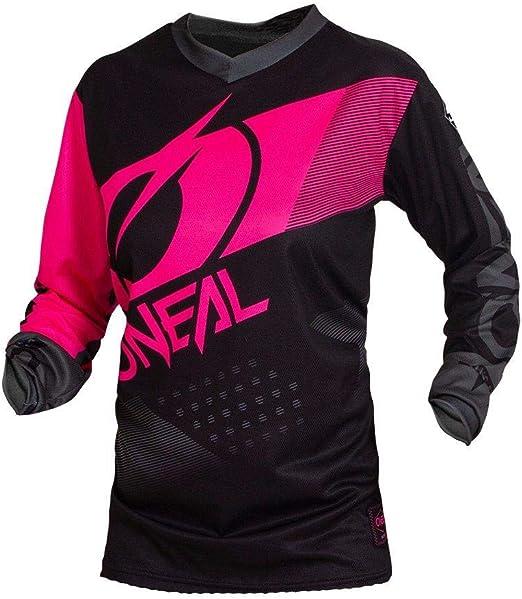 O Neal Element Factor Damen Fr Jersey Trikot Lang Schwarz Pink 2020 Oneal Größe Xl 42 Bekleidung