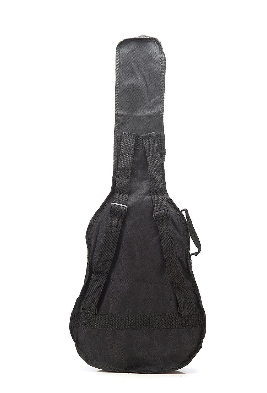 Guitarra ac/ústica de grosor dise/ño de acabado de nailon de transporte nuevo