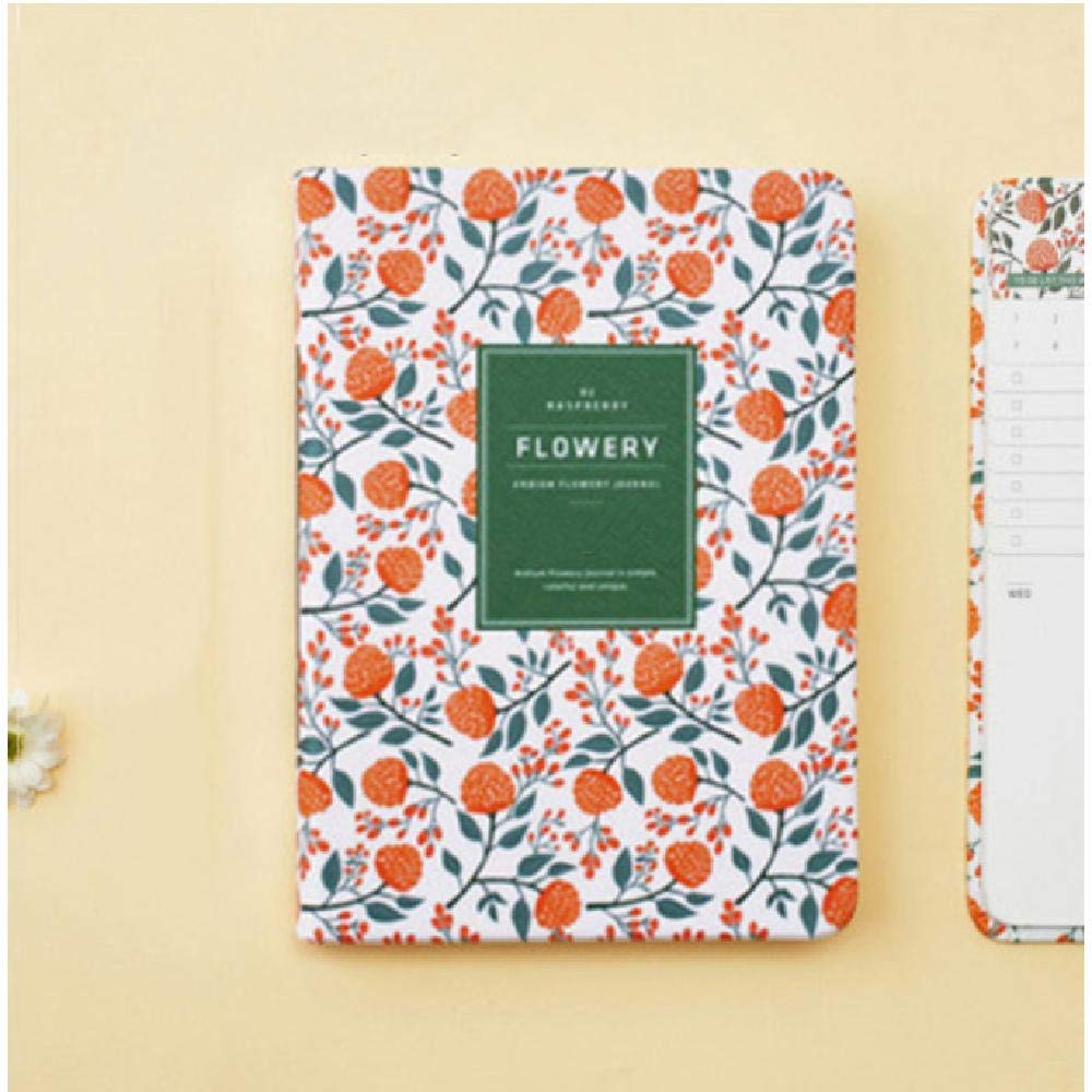 Notebook Schedule Yearly Diary Weekly Monthly Daily Paper A6 G