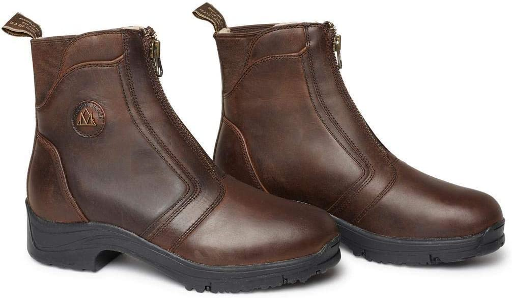 Mountain Horse Snowy River Paddock Womens Riding Boot Brown