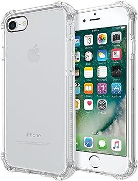 REY Funda Anti-Shock Gel Transparente para iPhone 7 / iPhone 8 ...