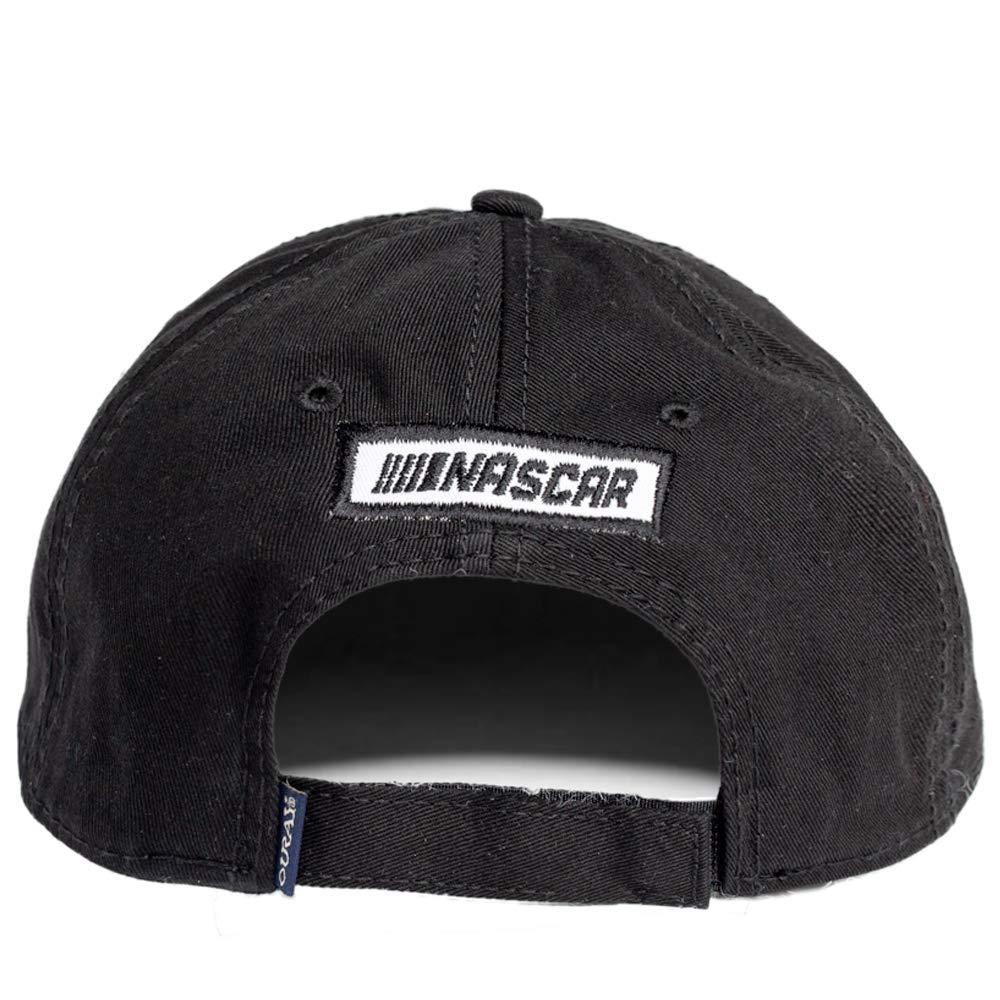 Black NASCAR Hendrick Motorsports Mens 51000-BK-Adjustable-Elliott Epic Washed Twill Cap Adjustable