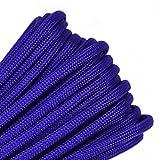 Acid PurpleMil-Spec Commercial Grade 550lb Type III Nylon Paracord - 50 Feet