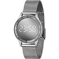 Relógio Lince Feminino Ref: Ldm4648l Sxsx Digital LED Prateado