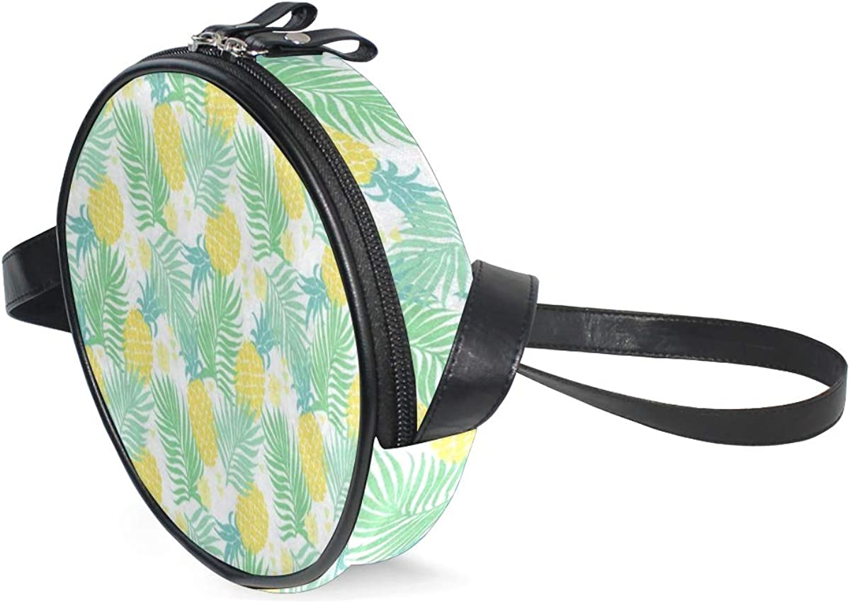 Round Crossbody Bag Sunset...
