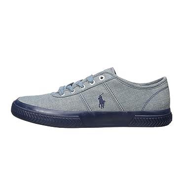 Zapatillas Polo Ralph Lauren Tyrian Ne - Color - Azul, Talla - 44 ...