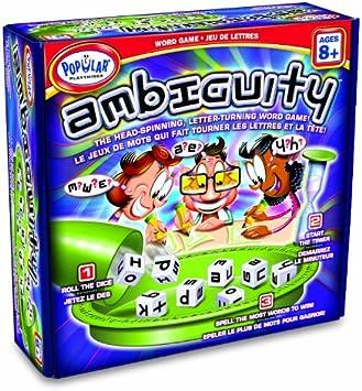 Popular Playthings - Ambiguity, Juego de Mesa (PP51000): Amazon.es: Juguetes y juegos