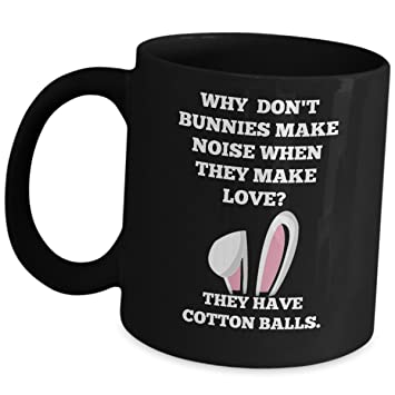 Funny Easter Coffee Mug Jokes Gifts For Adults Friends Men Women Him Or Her    Why