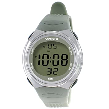 LE Relojes Adolescente Digital, electrónico acuático Adulto de los Hombres Digitales de la Nadada Impermeable de la Moda,G: Amazon.es: Deportes y aire libre