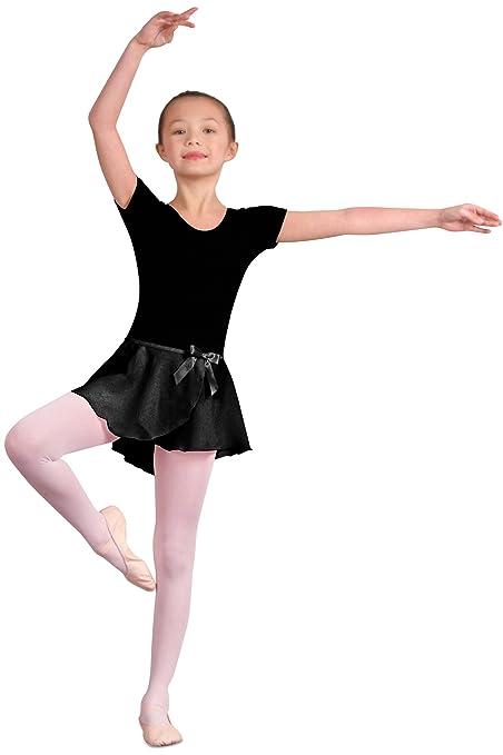 428041387f06 Amazon.com   Danshuz Children s Georgette Mock Wrap Skirt   Sports ...