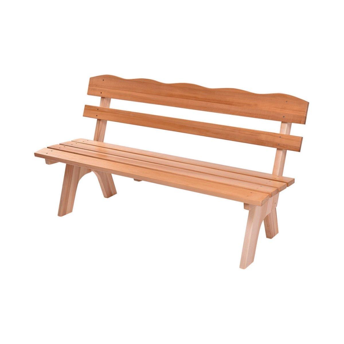 Simple Garden Bench Design