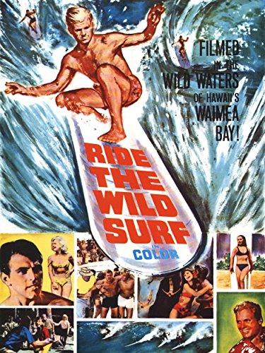 Art Film Movie Ride Wild Surf Hawaii Waimea Bay Poster Print