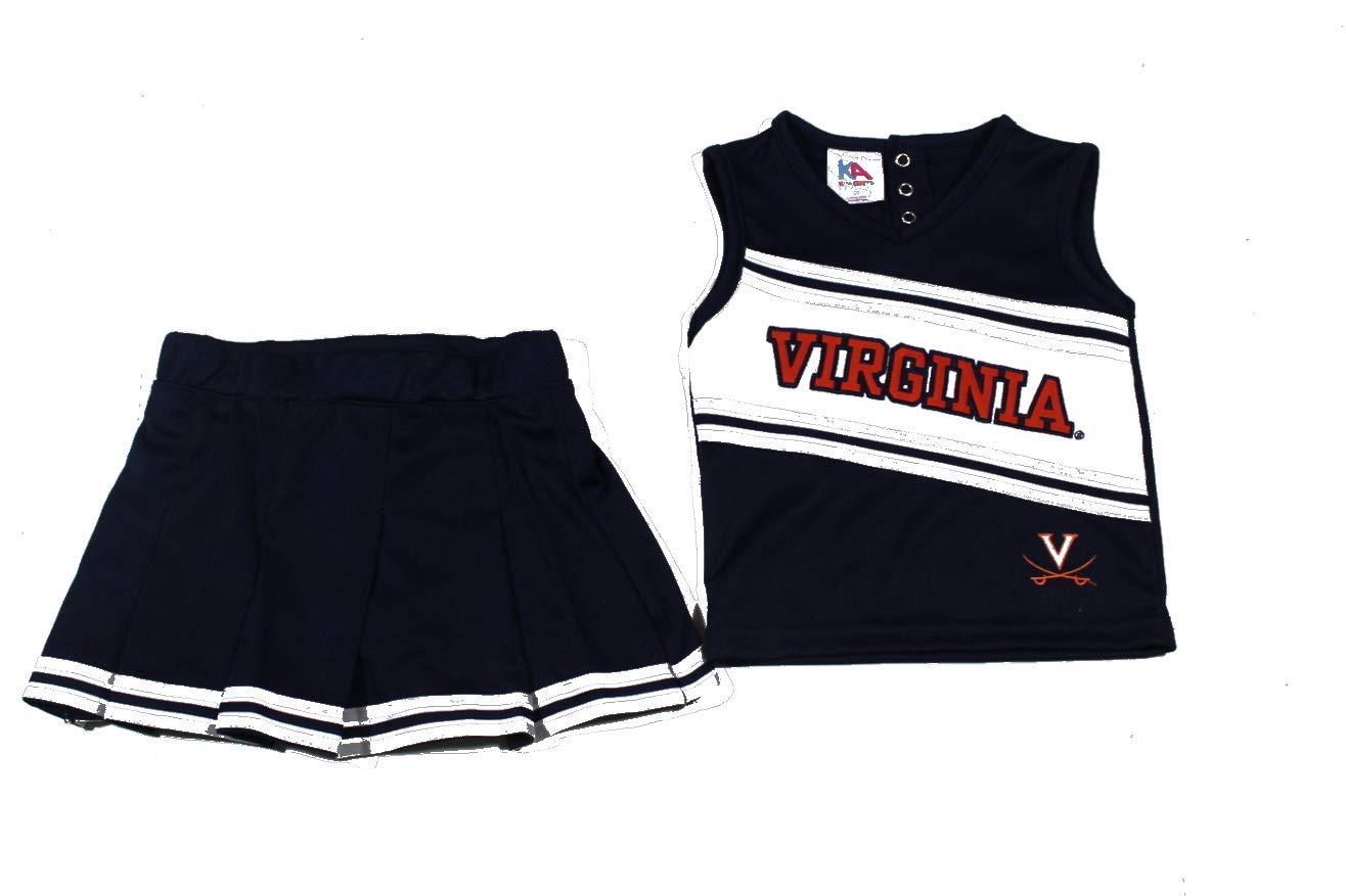 Knights Apparel Toddler Girls Virginia Cavalilers Cheer Dress Size 2T