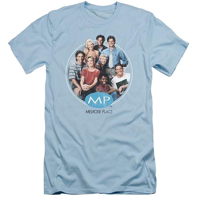 2Bhip Melrose place temporada de la serie televisiva cbs 1 molde original camiseta delgada para hombre Pequeña Azul: Amazon.es: Ropa y accesorios