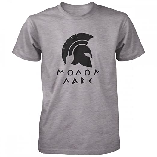 1f5eac1a337 Amazon.com  Vine Fresh Tees - Molon Labe Spartan T-Shirt  Clothing