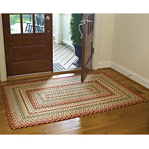 Braided Folk Art Rug 8x10 Quot