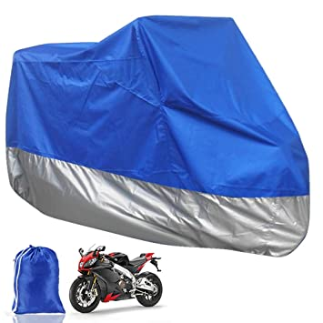 Motorcycle Cover XXL Waterproof Outdoor Rain Dust UV Protector Extra Large Green