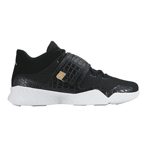 huge selection of b5fb9 24c51 Zapatillas Jordan - J23 Negro Blanco Dorado Talla  40  Amazon.es  Zapatos y  complementos
