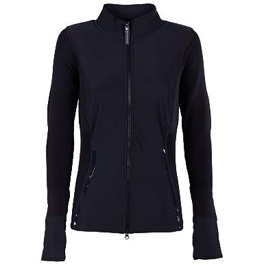 34e002b1a5c8 adidas by Stella McCartney Damen Sweatshirt Reißverschluss Pulli Blu EU XS  (UK XS) BQ8320  Amazon.de  Bekleidung