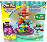 play dough cupcake set - Play-Doh Sweet Shop Creations Cupcake Tower With Frosting Kids Playset Cup Cake