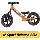 Strider - 12 Sport Balance Bike Ages 18 Months to 5 Years Orange