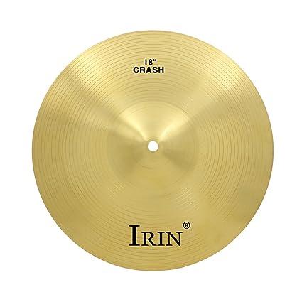 Amazon Com Homyl Brass Alloy Drum Set Crash Hi Hat Cymbals For Drum