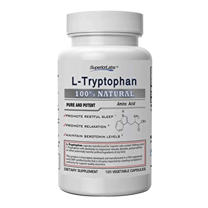 Amazon.com: Superior Labs L-Triptófano puro y potente ...