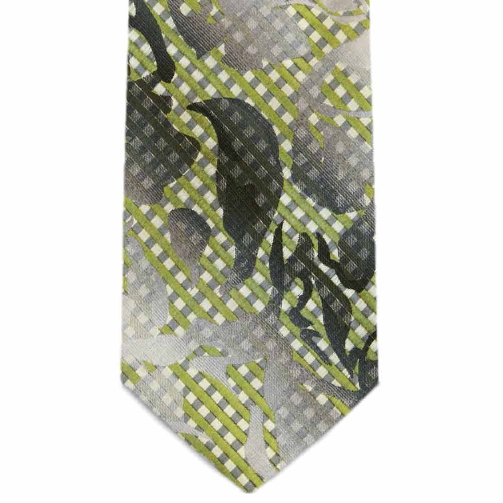 TieMart Special Purchase Tie and Pocket Round Set in Elmwood